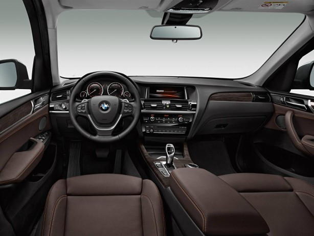 2014-BMW-X3-facelift-interior