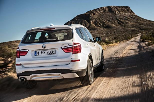 2014-BMW-X3-facelift-rear