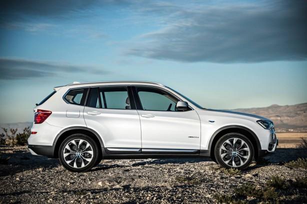 2014-BMW-X3-facelift-side