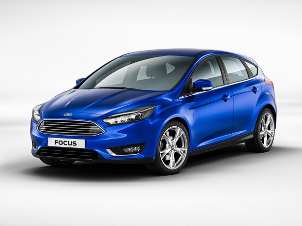 2014 Ford Focus facelift front