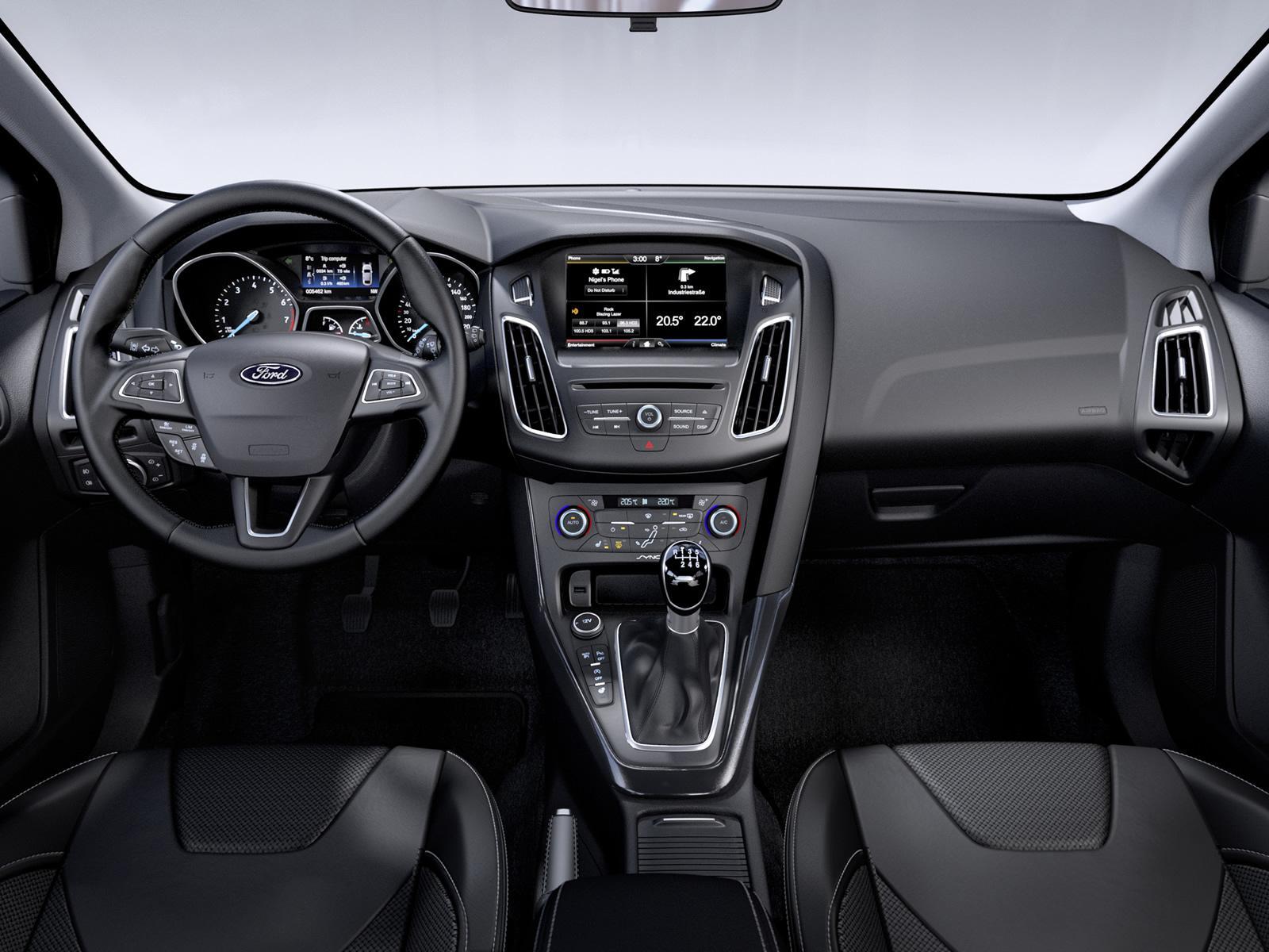 2014 Ford Focus Facelift Interior Dashboard Forcegt Com