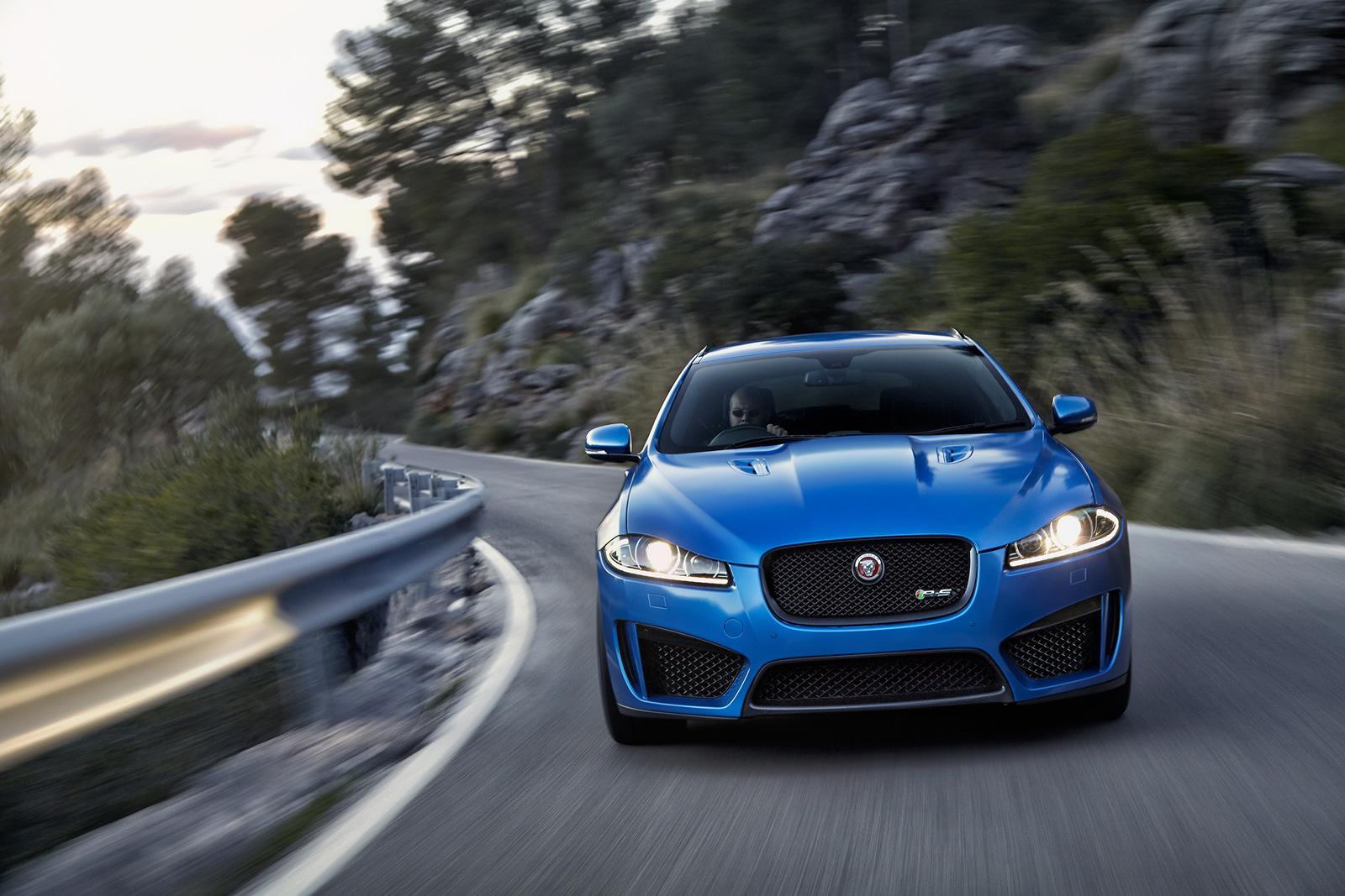 Jaguar Cars - News: XFR-S Sportbrake unveiled - packs 405 kW
