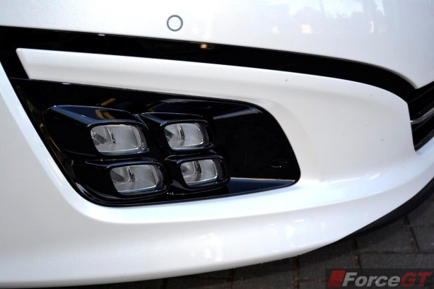 2014 Kia Optima Review-Optima Platinum LED fog lights