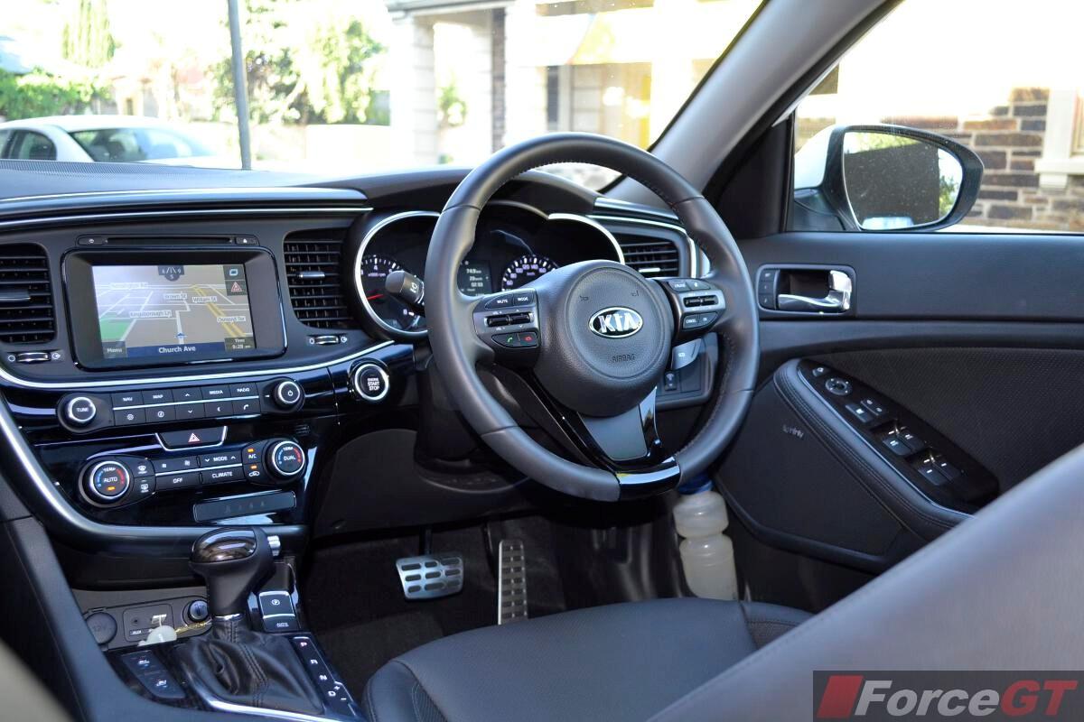 2014 Kia Optima Review Optima Platinum Dashboard