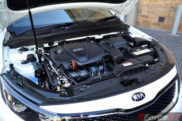 2014 Kia Optima Review-Optima Platinum engine