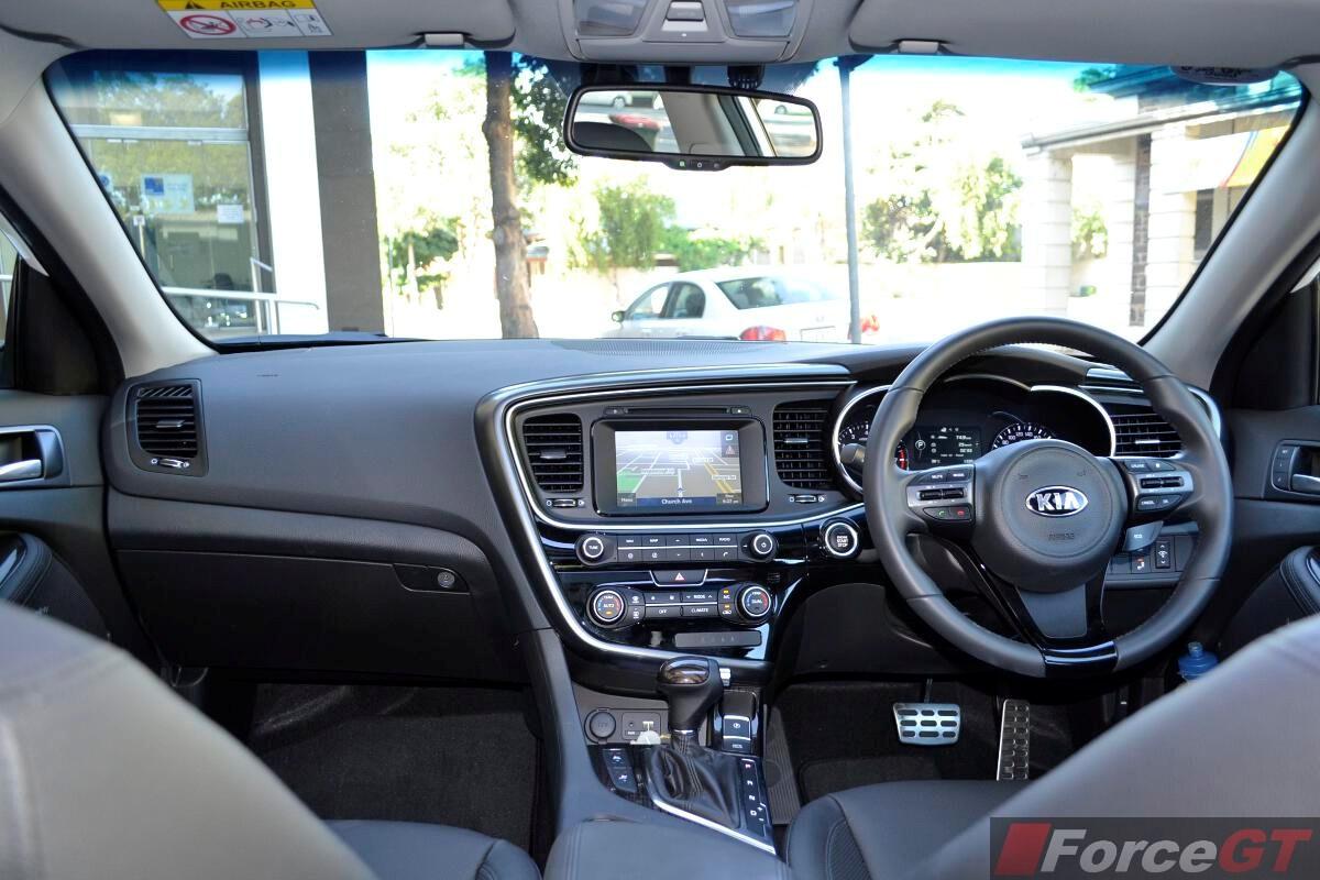 Charming 2014 Kia Optima Review Optima Platinum Interior