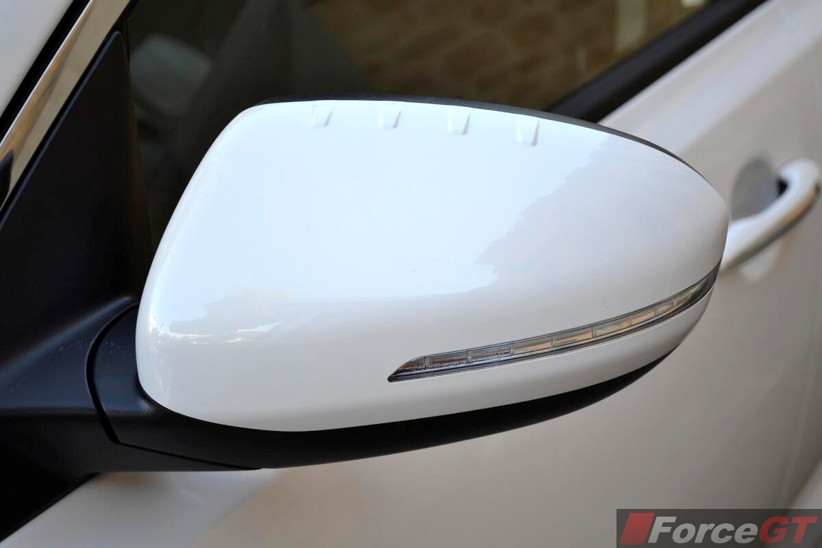 2017 Kia Optima Review Platinum Wing Mirror