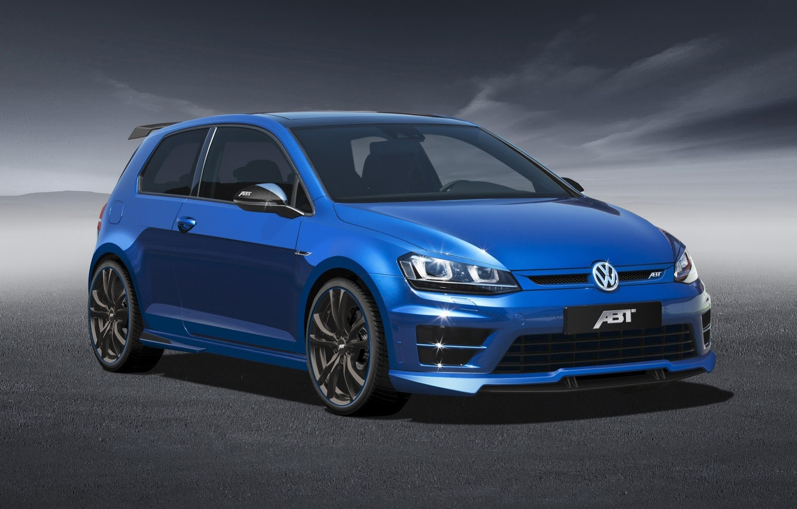 Volkswagen Tuning Abt Tuned Golf R Does 0 100km H In 4 5s
