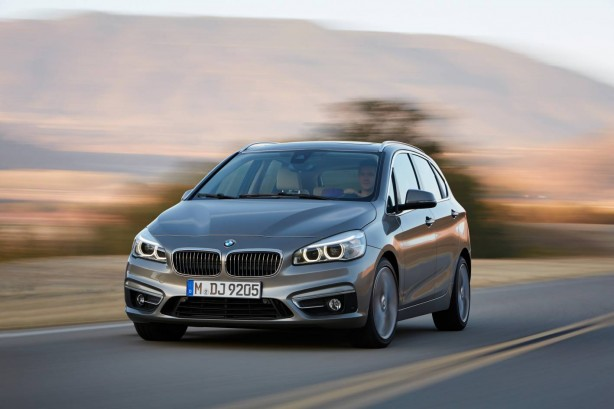 BMW 2-Series Active Tourer front