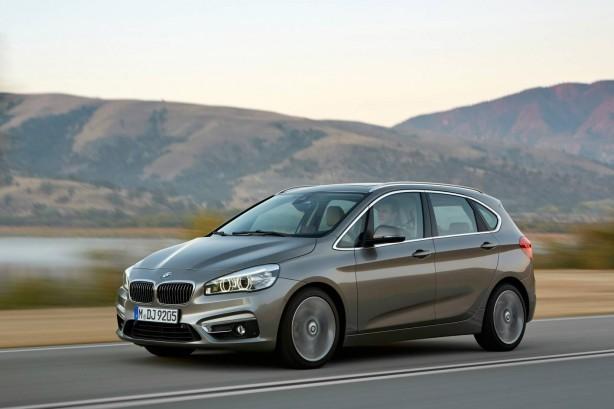 BMW 2-Series Active Tourer front quarter
