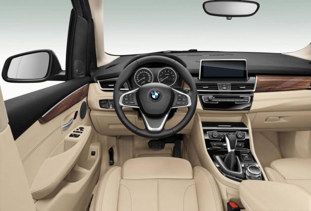BMW 2-Series Active Tourer interior dashboard