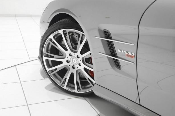 Brabus tuned Mercedes-Benz SL63 AMG alloy wheels