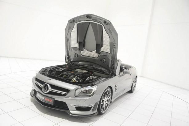 Brabus tuned Mercedes-Benz SL63 AMG engine