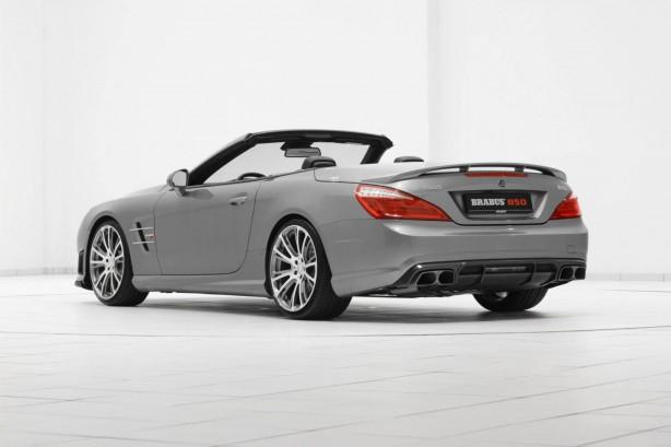 Brabus tuned Mercedes-Benz SL63 AMG rear quarter