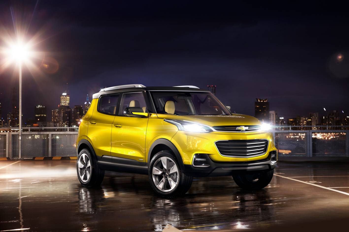 Chevrolet Cars - News: Chevrolet Adra small SUV for India