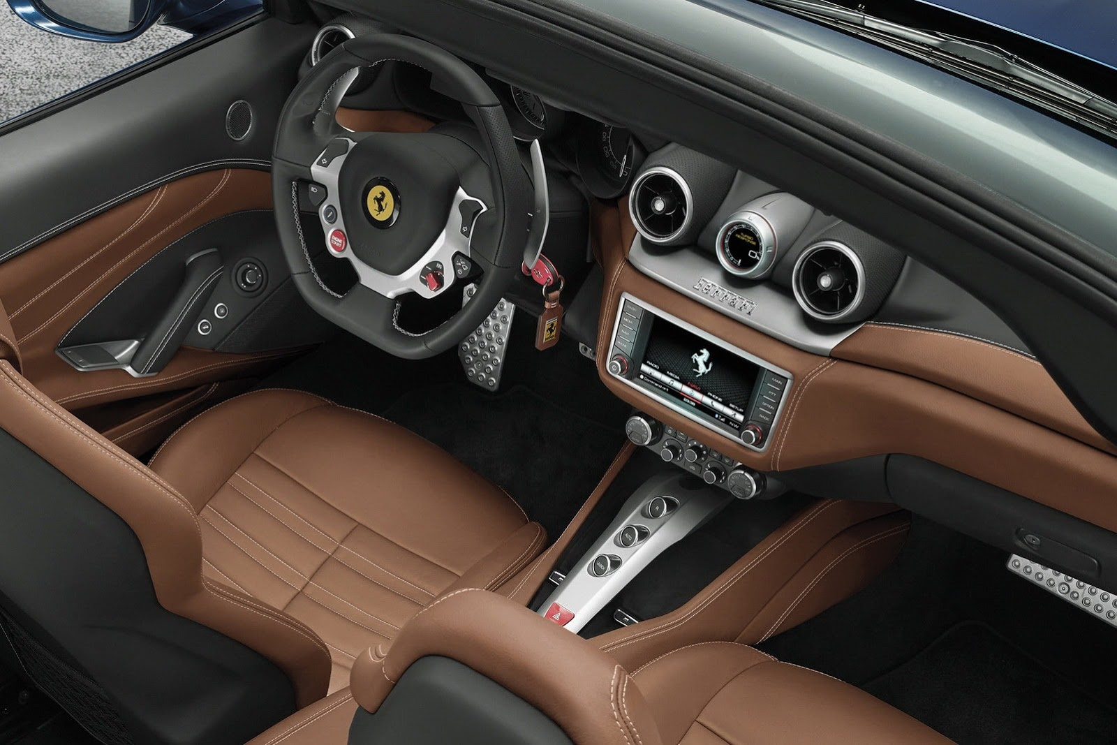 Ferrari California T Interior Dashboard Forcegt Com