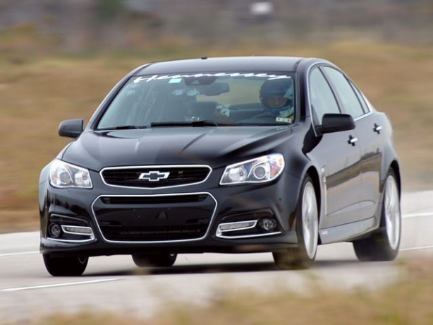 Hennessey-tuned Chevrolet SS front quarter