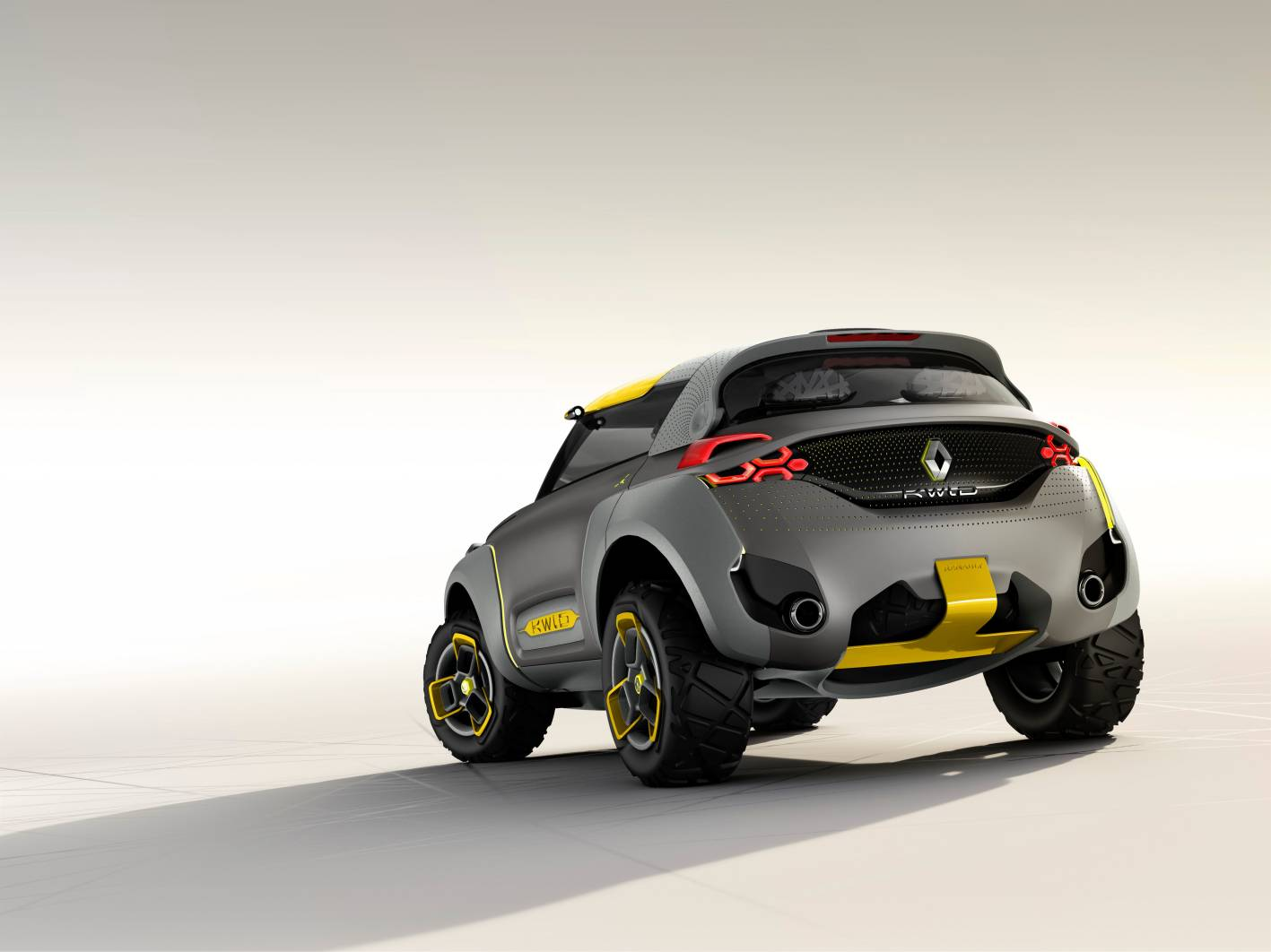Renault Cars - News: KWID Concept mini SUV for emerging market