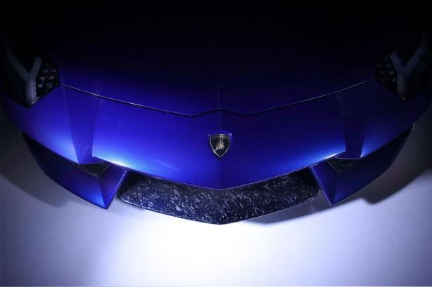 Lamborghini Aventador Ad Personam front