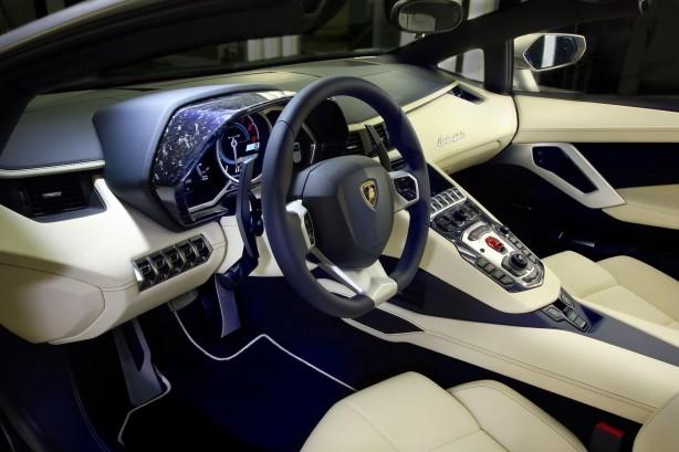 Lamborghini Aventador Ad Personam interior