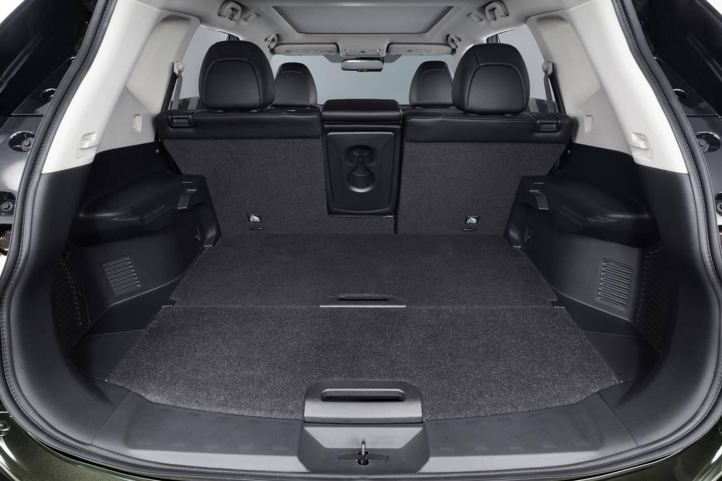 Nissan X-Trail luggage space - ForceGT.com