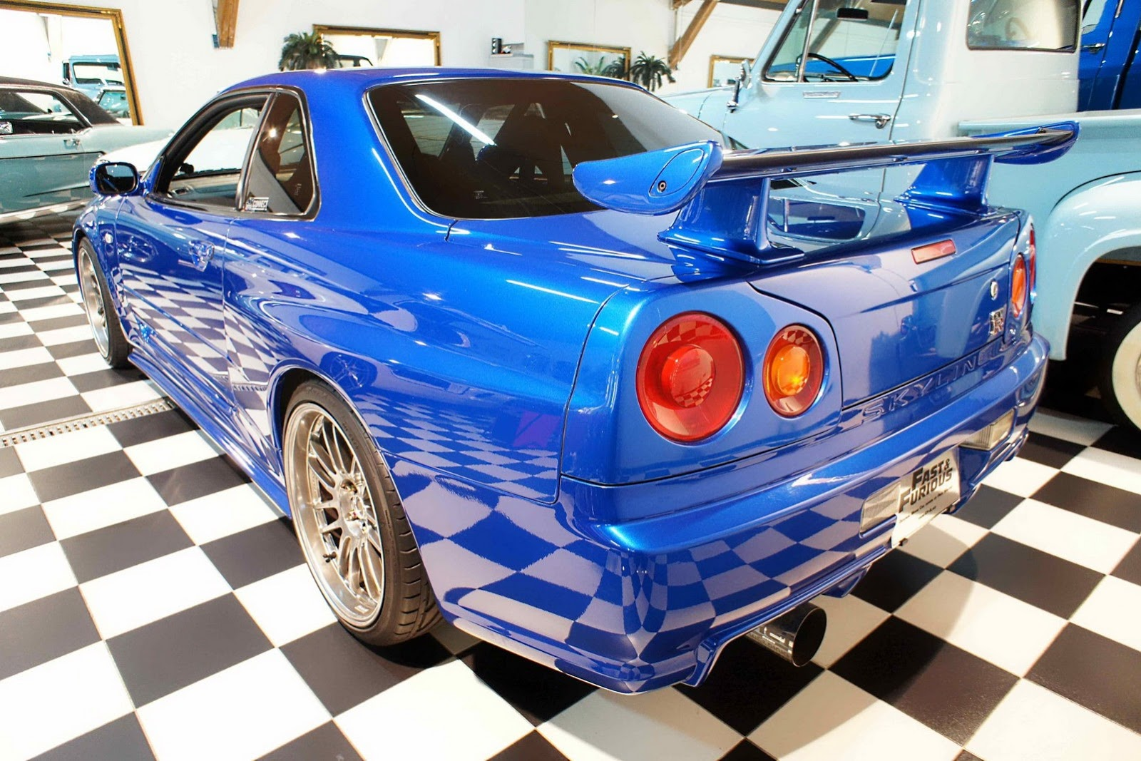 Nissan Cars - News: R34 Skyline driven by Paul Walker up ...