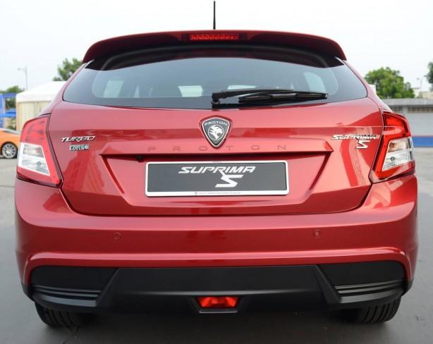 Proton Suprema S Super Premium rear