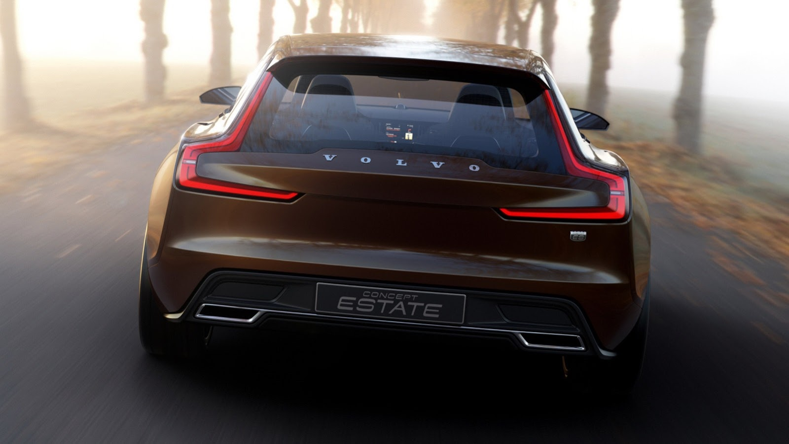 New Volvo V40 >> Volvo Cars - News: Volvo Estate Concept leaked ahead of debut