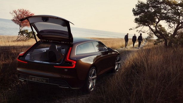 Volvo Estate Concept rear