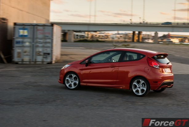 2014 Ford Fiesta ST rolling