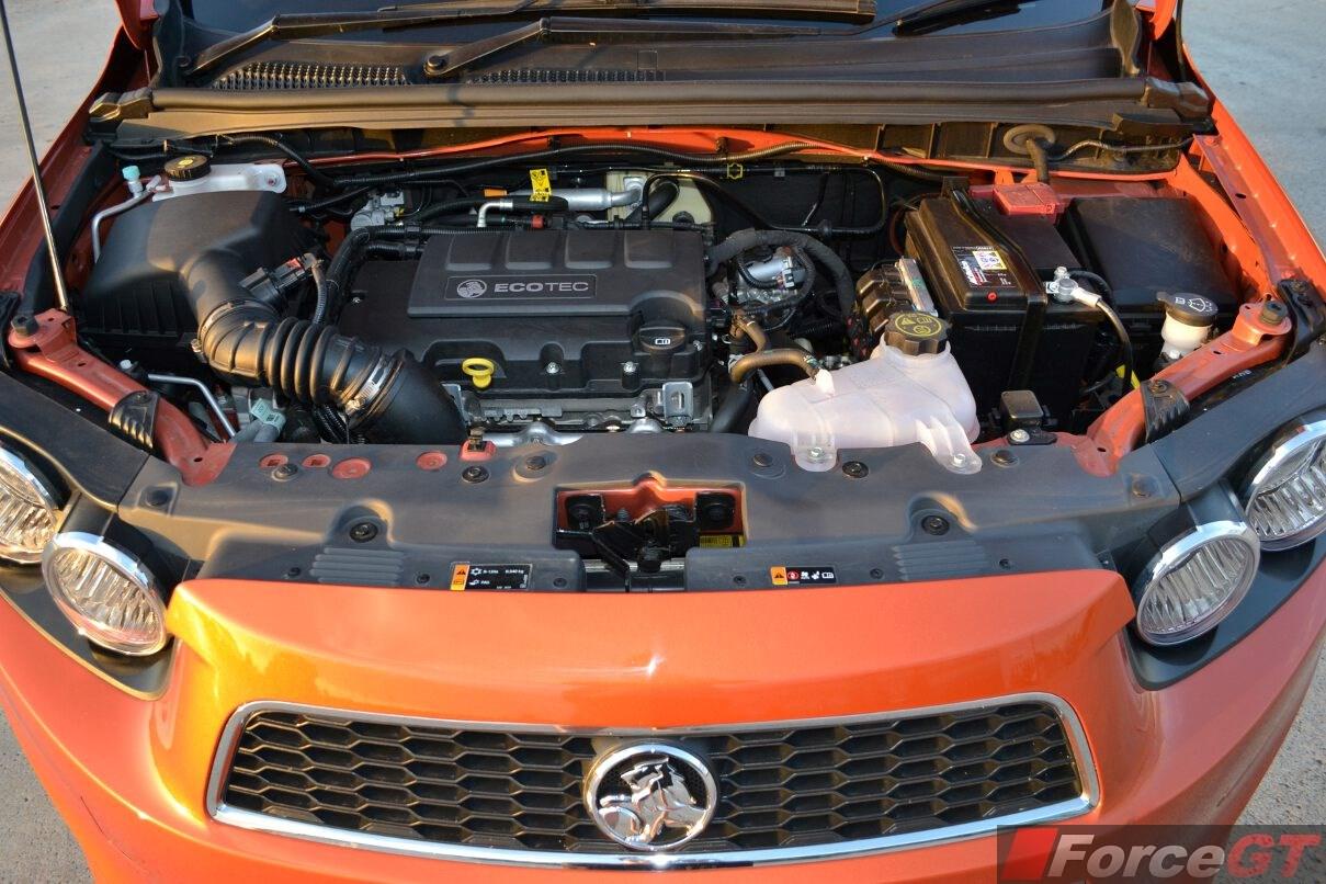 2017 Holden Barina Rs Engine