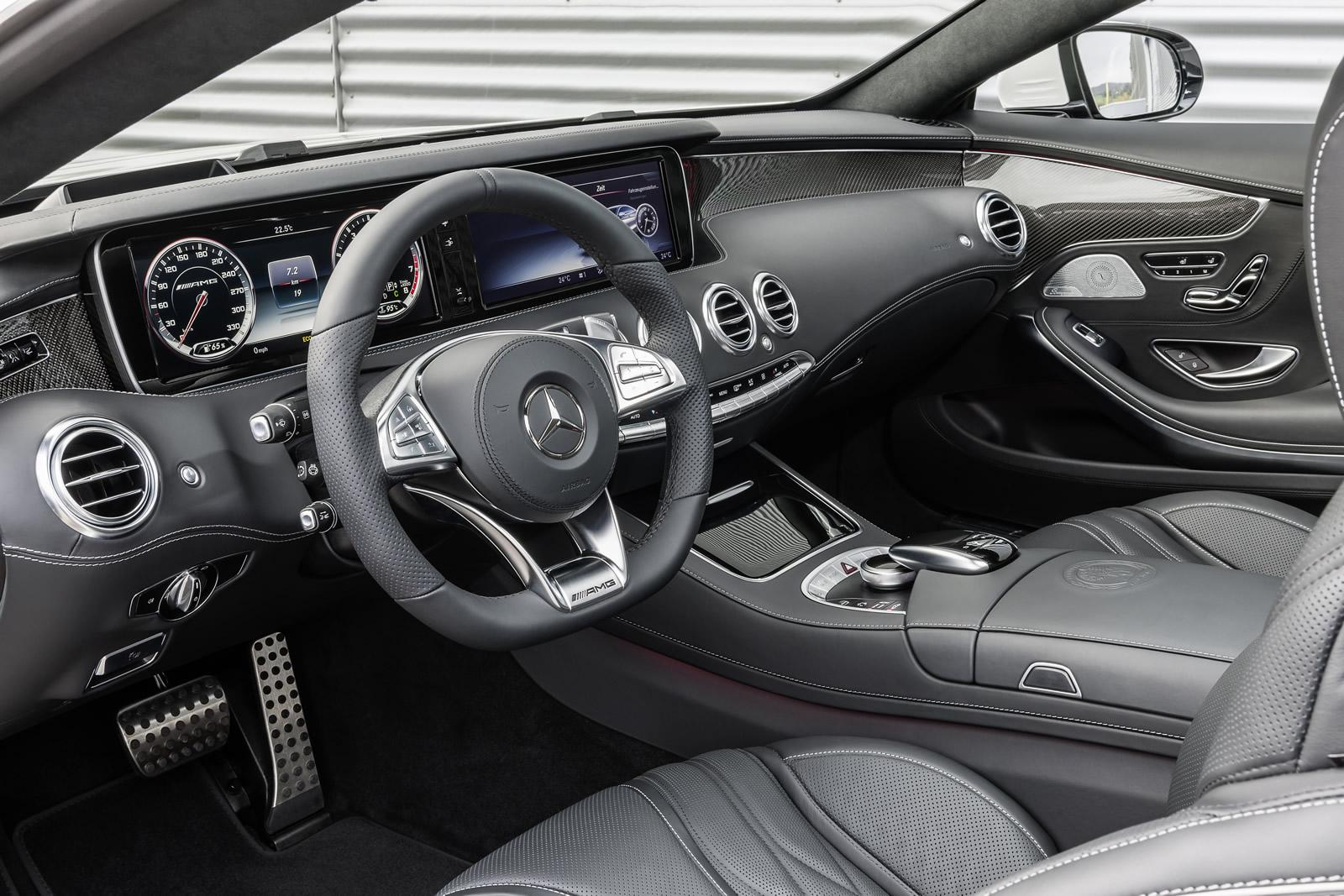 2014 Mercedes Benz S63 Amg Coupe Dashboard Forcegt Com