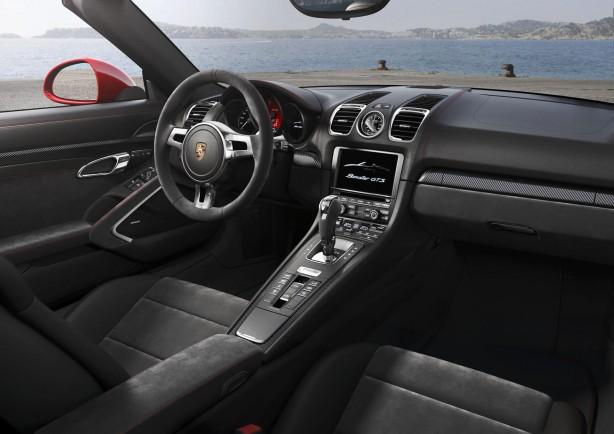 2014 Porsche Boxster GTS interior