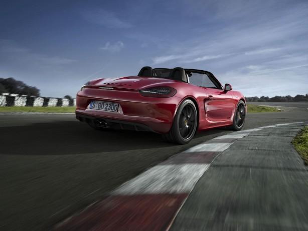 2014 Porsche Boxster GTS rear quarter