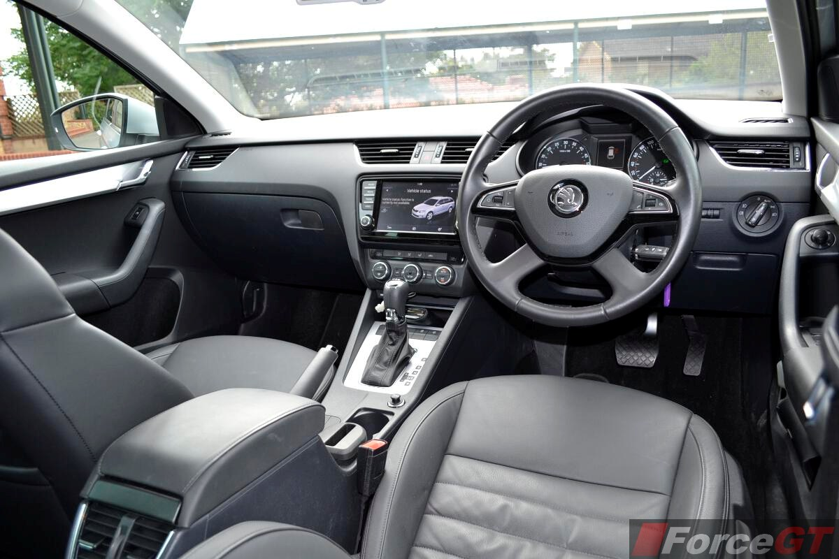 2018 Honda Accord Interior >> Skoda Octavia Review: 2014 Octavia Wagon