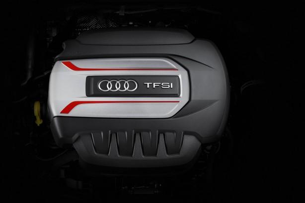 2015 Audi TTS engine