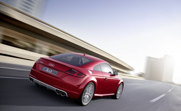 2015 Audi TTS rear
