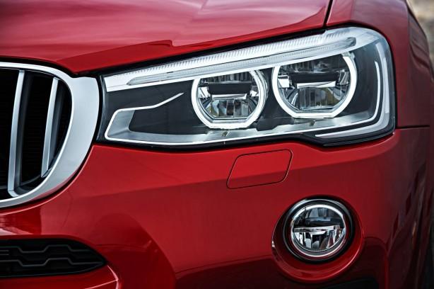 BMW X4 headlight
