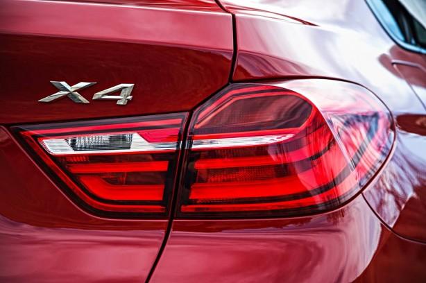 BMW X4 taillight