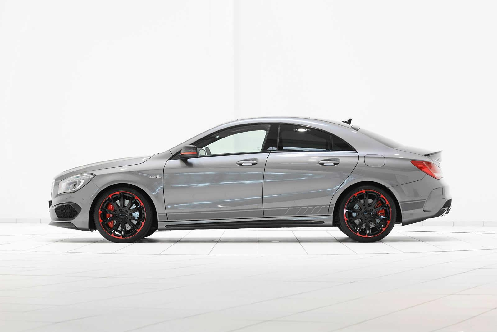 mercedes tuning brabus tuned cla45 amg with nearly 300kw. Black Bedroom Furniture Sets. Home Design Ideas