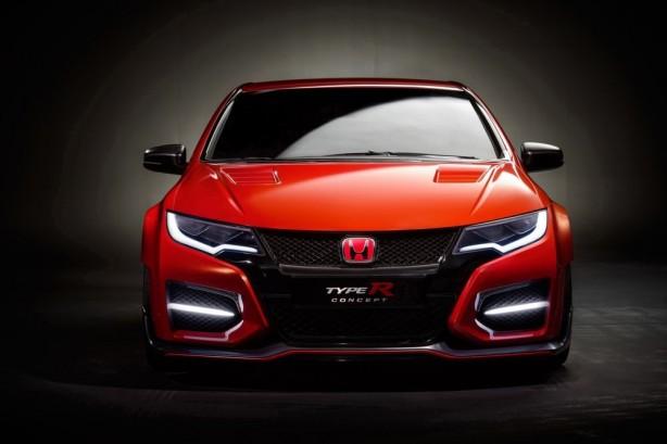 Honda Civic Type R concept front