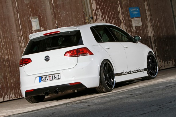 Ingo Noak-tuned Volkswagen Golf 7 rear quarter