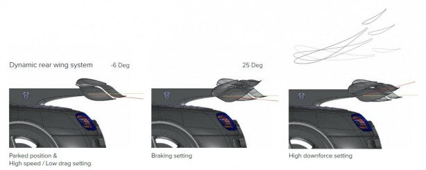 Koenigsegg One 1 active rear wing-1