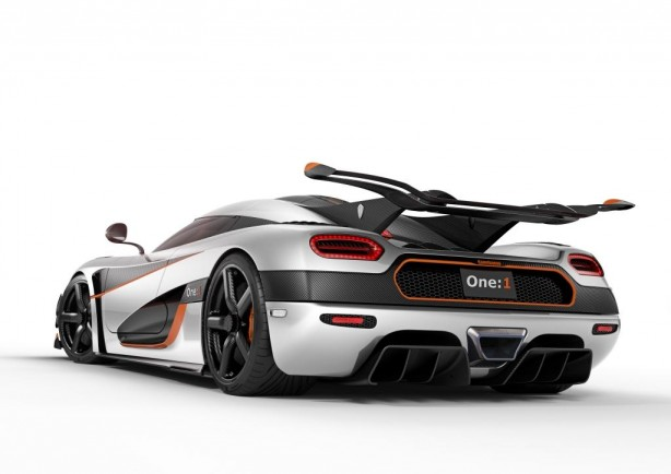 Koenigsegg One 1 rear