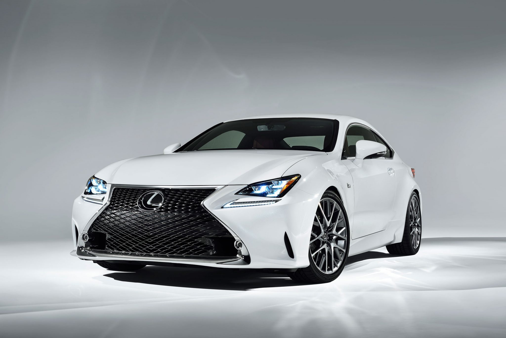 Lexus Cars - News: RC 350 F Sport officially revealed