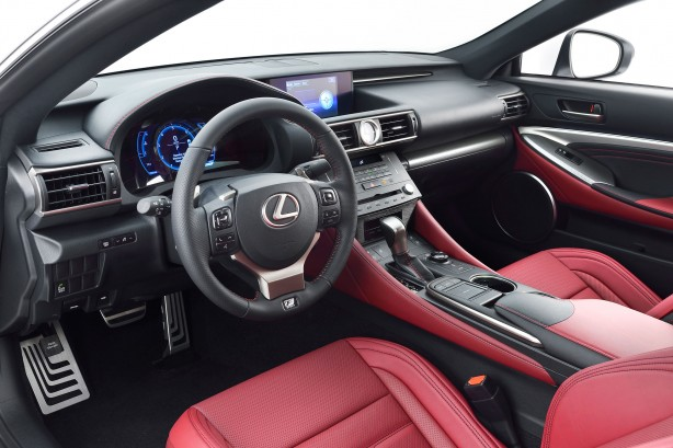 Lexus-RC-350-F-Sport-interior-dashboard