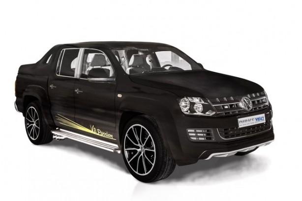 MTM-tuned Volkswagen Amarok V8 front quarter