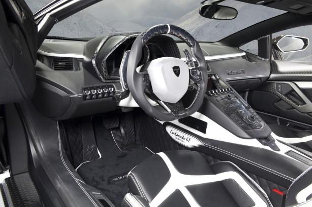 Mansory Lamborghini Aventador LP700-4 based Carbonado GT interior