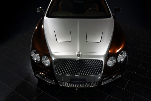 Mansory-tuned Bentley Flying Spur front