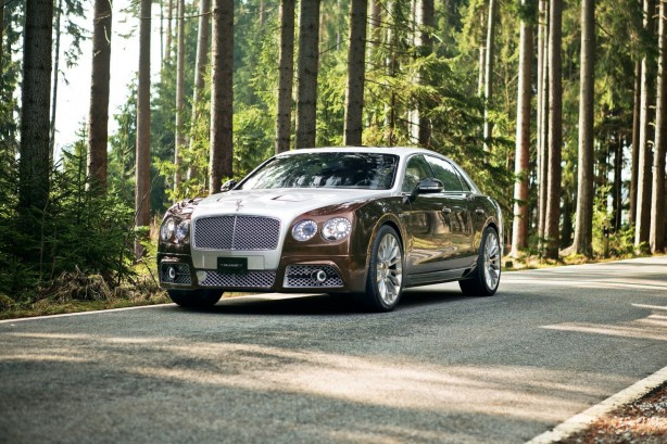 Mansory-tuned Bentley Flying Spur front quarter